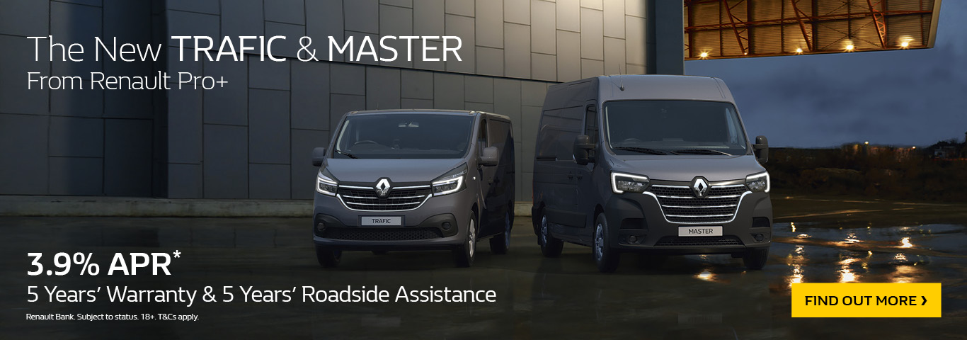 Brand New Renault Master And Trafic Overhaul - A Closer Look